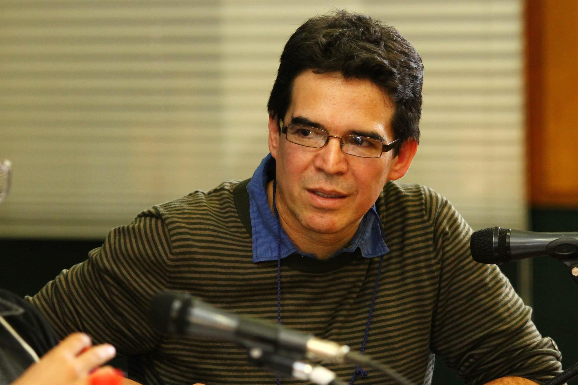 Con Edmundo Paz Soldán