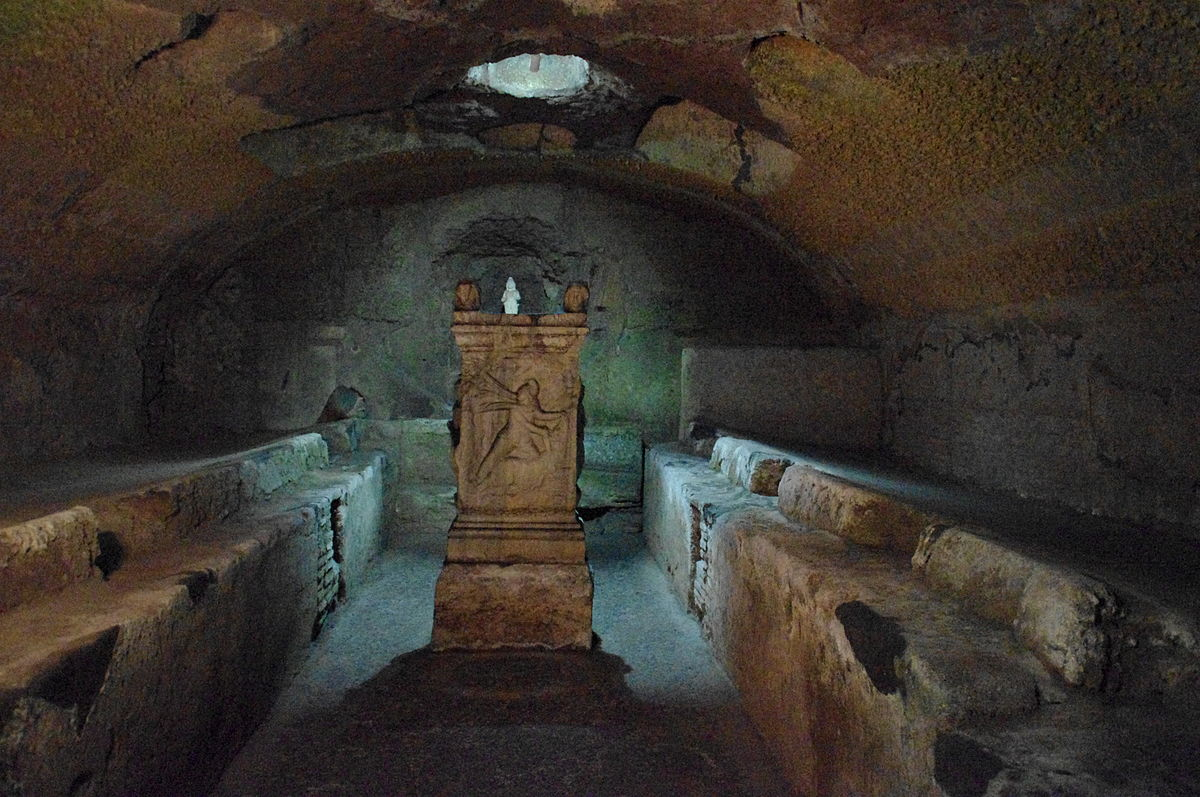 Mitreo de San Clemente en Roma (Wikipedia)