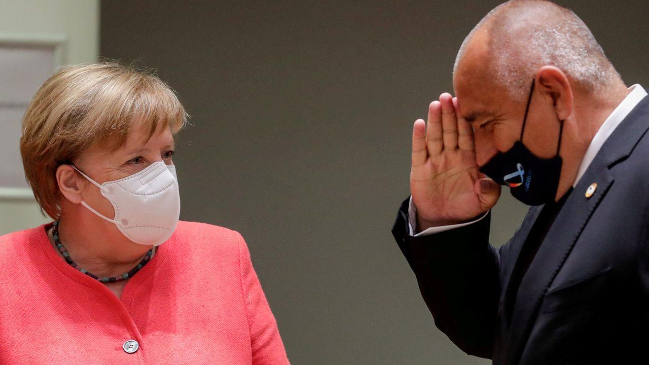Merkel al mando
