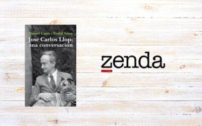 Entrevista a José Carlos Llop en Zenda, por María José Solano